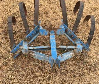 Blue Rake Attachment - $250