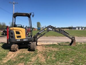 Volvo EC20 Mini Excavator Rental | 405 Equipment LLC
