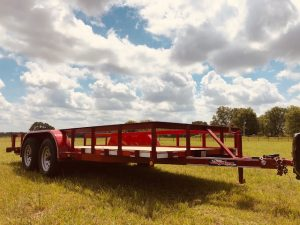77″ x 16′ Tandem Utility Trailer | 405 Equipment LLC