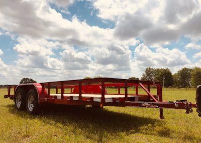 77″ x 16′ Tandem Utility Trailer - $2,300