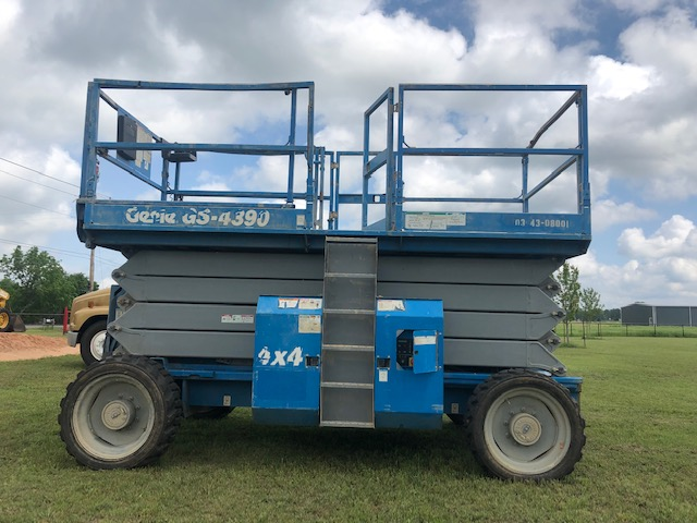 Genie GS 4390 4X4 All Terrain Scissor Lift | 405 Equipment LLC