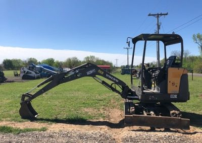Volvo EC20 Mini Excavator Rental - $225