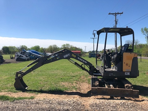 Volvo EC20 Mini Excavator Rental