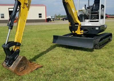 Gehl 383Z Excavator - $20,500