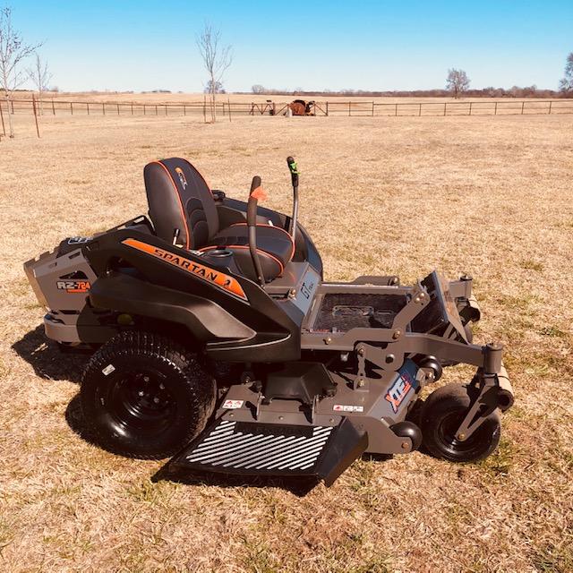 2020 Spartan 54″ RZ Zero Turn Mower - $3,999