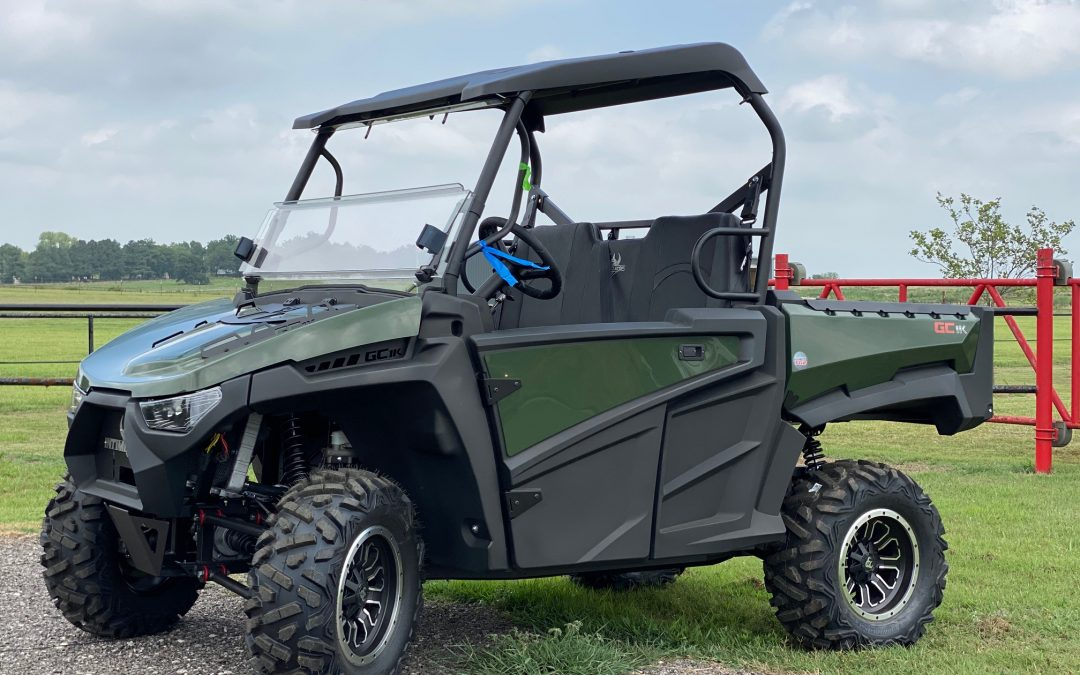 2020 Intimidator Classic GC1K UTV ATV 4×4 Green Side by Side - $14,093