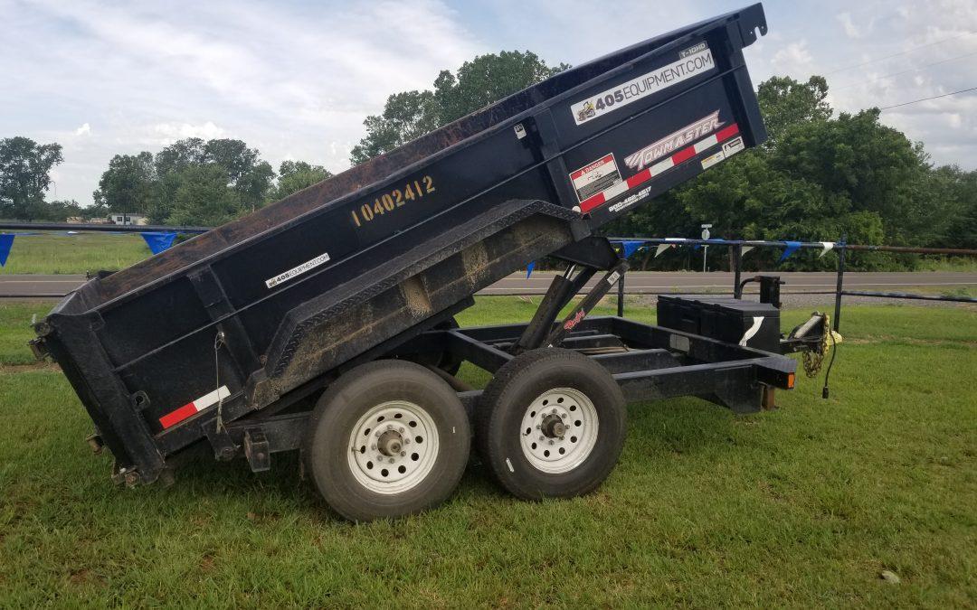 Tow Master Dump Trailer - $225