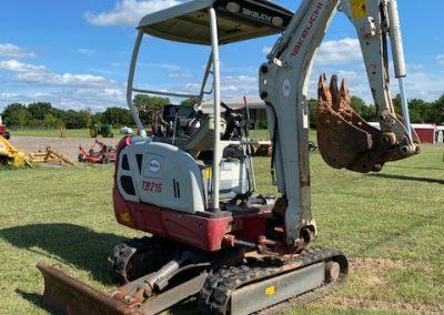 Takeuchi TB216 Mini Excavator - $20,500