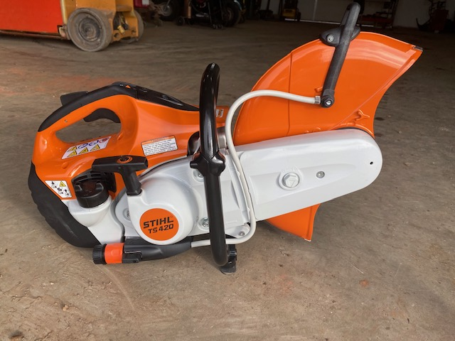 2020 Stihl TS420 Concrete Hand Saw for rent!