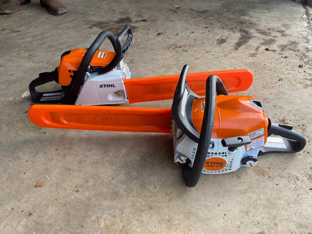 Stihl Chain Saws for Rent!