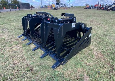 72″ Rock Grapple Bucket for rent! - $75