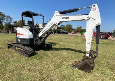 Bobcat E35 Track hoe Excavator - $300