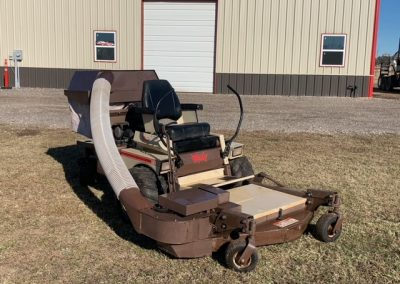 Grasshopper 720K Mower with Bagging System and Dozer Blade - $4,000