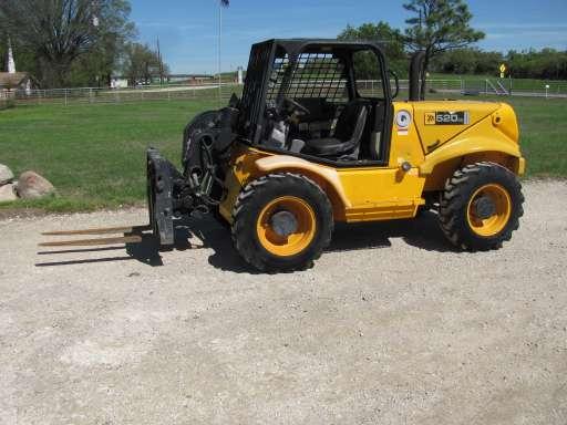 JCB 520 Telescopic Forklift for rent! - $275