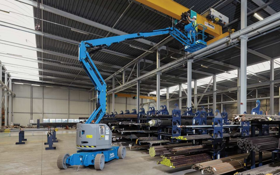 Genie Z34/22 Articulated Boom Lift for rent! - $300
