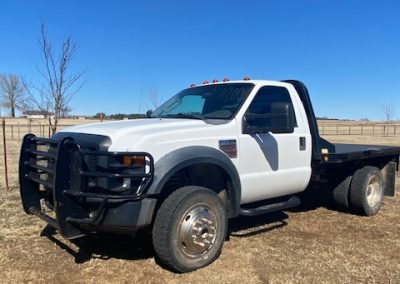 2008 Ford F450 Flatbed diesel truck for sale! - $18,000
