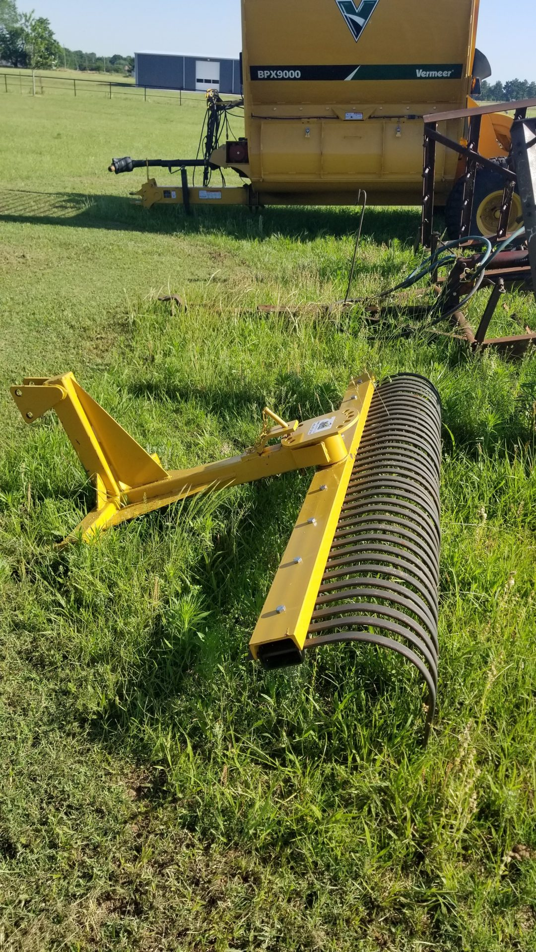 7ft Rock Rake 3 Point Attachment Rental