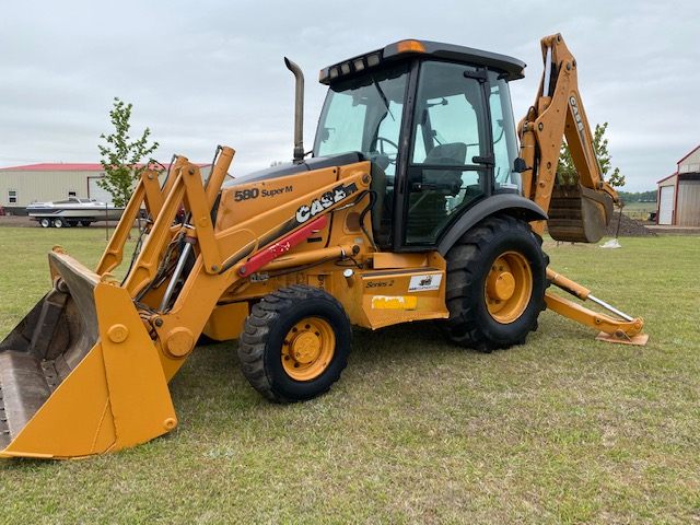 2005 Case 580 Super M Series 2 Backhoe Loader