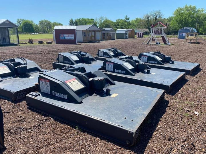 72″ Brushcat Rotary Cutter Skidsteer Attachments - $5,500