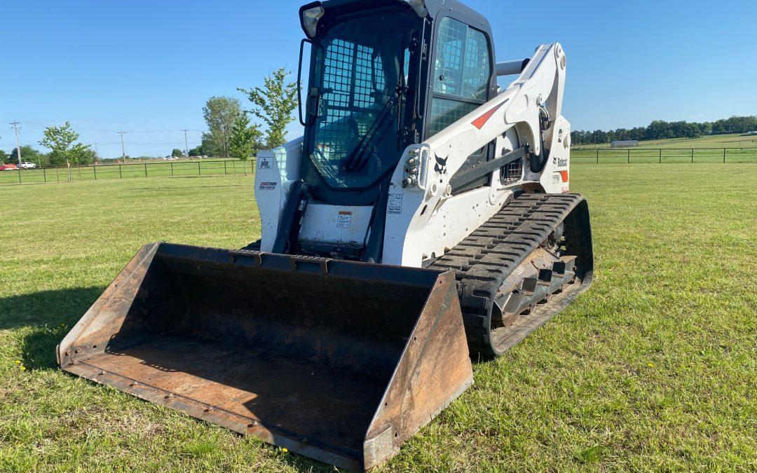 2019 Bobcat T770 Track Machine Skidsteer - $47,500