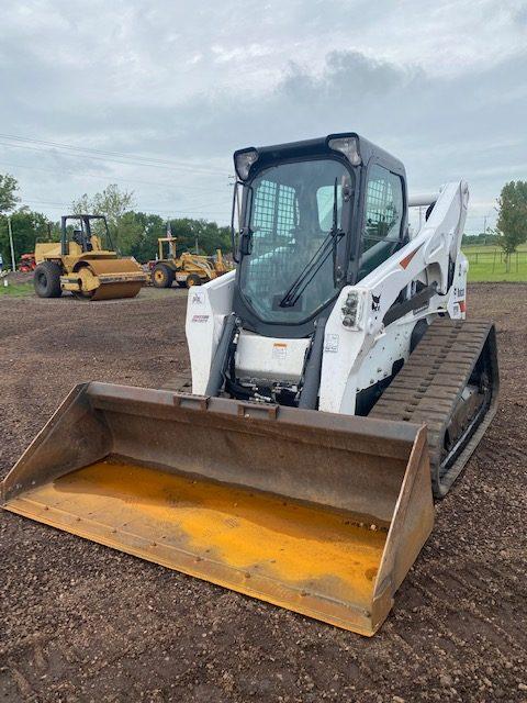 2019 Bobcat T870 Track Machine Skidsteer