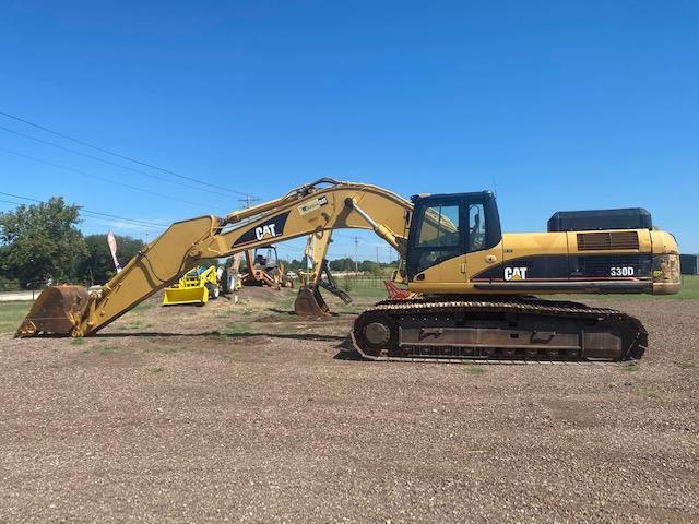 Cat 330D L Trackhoe Excavator Rental