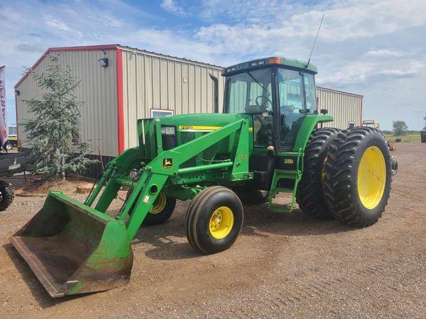 1998 John Deere 7810 Tractor Loader - $70,000